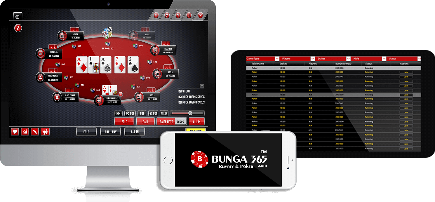 Card Games Online - Play Poker & Rummy