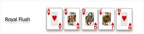 Royal flush Sequence