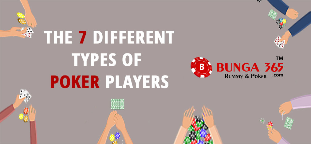 Types of Poker Players Online