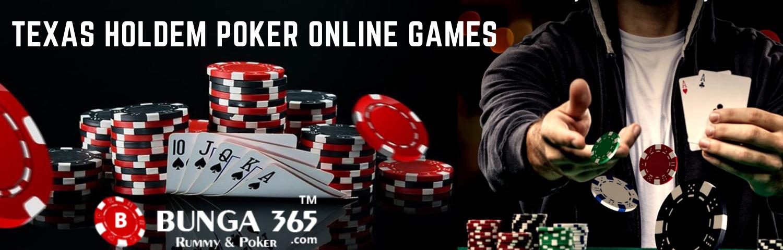 TEXAS HOLDEM POKER ONLINE GAMES