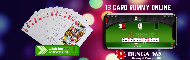 13 card rummy online games - bunga365