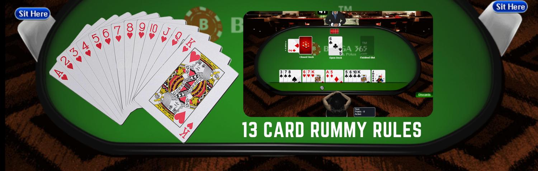 13 card rummy rules - Bunga365