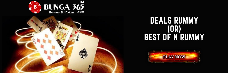 Deals Rummy or Best of N Rummy - Bunga365
