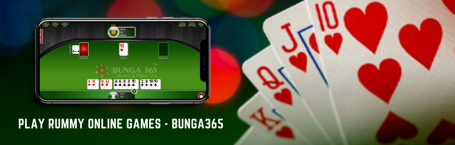 Play Rummy Online Games - Bunga365