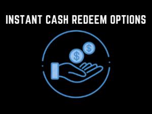 Poker Instant Cash redeem options - Bunga365