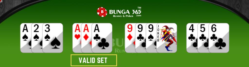 Rummy card Game rules - rummy set- Bunga365